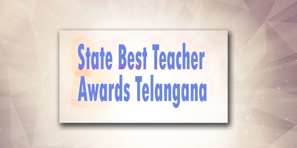 State best teachers award telangana